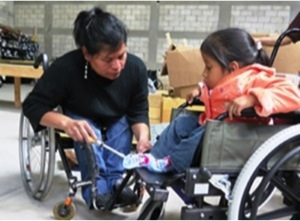 Employment designed to meet the needs for the local Guatemalan's in wheelchairs at Hope Haven International, Refugio de Esparanza